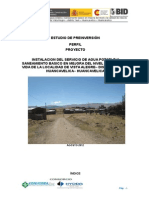 Proyecto de Inversion Publica - Vista Alegre
