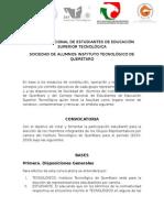 Convocatoria Para Presidentes de Grupos Representativos
