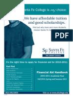 Santa Fe College Financial Aid Handbook 2010-11