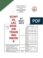 LAC Matrix