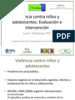 Violencia Contra Niños y Adolescentes.