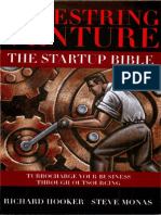 [Hooker and Monas, 2008] Shoestring Venture - The Startup Bible