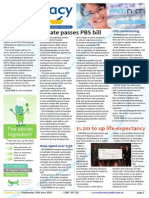Pharmacy Daily for Wed 24 Jun 2015 - Senate passes PBS bill, Greater pharmacy role, Hosp spend over $55b, Health & Beauty and much more