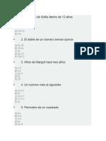 lenguaje algebraico ecuaciones