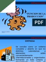 V Función Producción