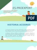 ACODRES-PROEXPORT