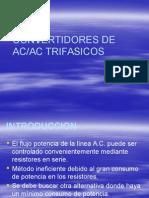 Convertidores Trifasicos AC AC