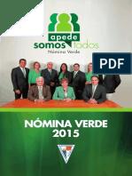 Plan Estrategico Nomina Verde APEDE 2015