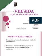 VIH analisis critico desde el rol del psicologo