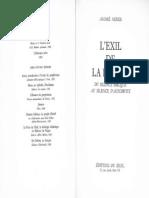andre neher lexil de la parole du silence biblique au silence dauschwitz 1.pdf