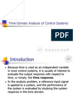B_lecture6 Time-domain Specifications Automatic control System
