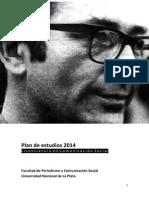 Plan de Estudios Licenciatura 2014