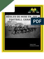 Règle de mise en jeu football canadien.doc