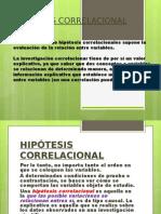 hipotesis CORRELACIONAL