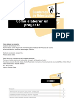 Como Elaborar Un Proyecto