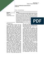 Pengaruh Prosentase Co2 Terhadap Karakteristik-libre