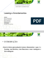 matematica financeira leasing