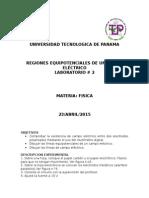 Laboratorio 2- Regiones Equipotenciales de Un Campo Elã‰Ctrico