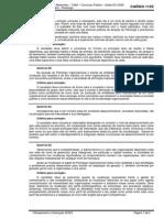 Prova e Critérios - 1122 - Analista Judiciário - Psicólogo