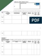 2014 Plano de Curso 2014 - Modelo Novo
