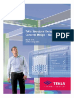 Tekla Structural Designer Quick Start Guide for Concrete