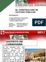 Politica Publica Lunahuana