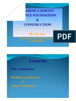 PPT Pile Foundation