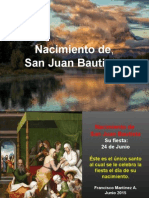 Nacimiento de San Juan Bautista.