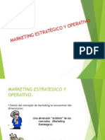 MArketing Estrategico vs Operativo Expocicion