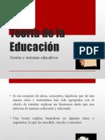 Teoría de La Educación 2015eeee (Copia de NXPowerLite)