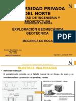Exploración Geomecanica y Geotecnica - Parte I.3