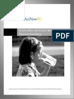 ActNowBC_Unknown_School Meal and School Nutrition Program Handbook