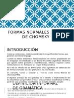 Formas Normales de Chomsky