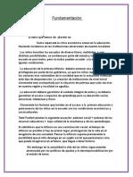 FUNDAMENTACION PEDAGOGIA 1