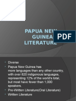Papua New Guinean Literature