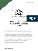 Teaching Plan Booklet