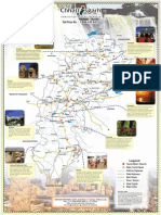Chhattisgarh Tourism MAP
