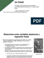 Generalidades de La Regresión