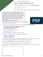VBA (Excel) - Copiando Dados Entre Planilhas