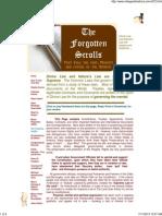 Forgotten Scrolls That Rule the World