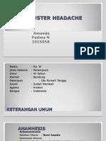 Amanda Padma, Cluster Headache, Ny W