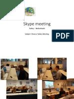 Skype Meeting TK-NL