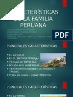 Características de La Familia Peruana