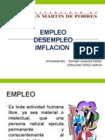 empleo desempleo inflacion