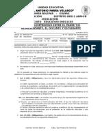 Acta de Compromiso 2015