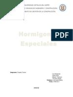 Informe Final Hormigones Especiales Tecnologia Del Hormigon