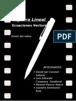 Ecuaciones Vectoriales