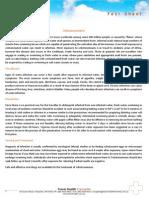 Fact Sheet Schistosomiasis