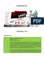 Japanizam 2015 Program