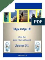 Fatigue Fatigue Life